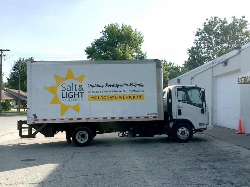 Salt and Light Truck Front