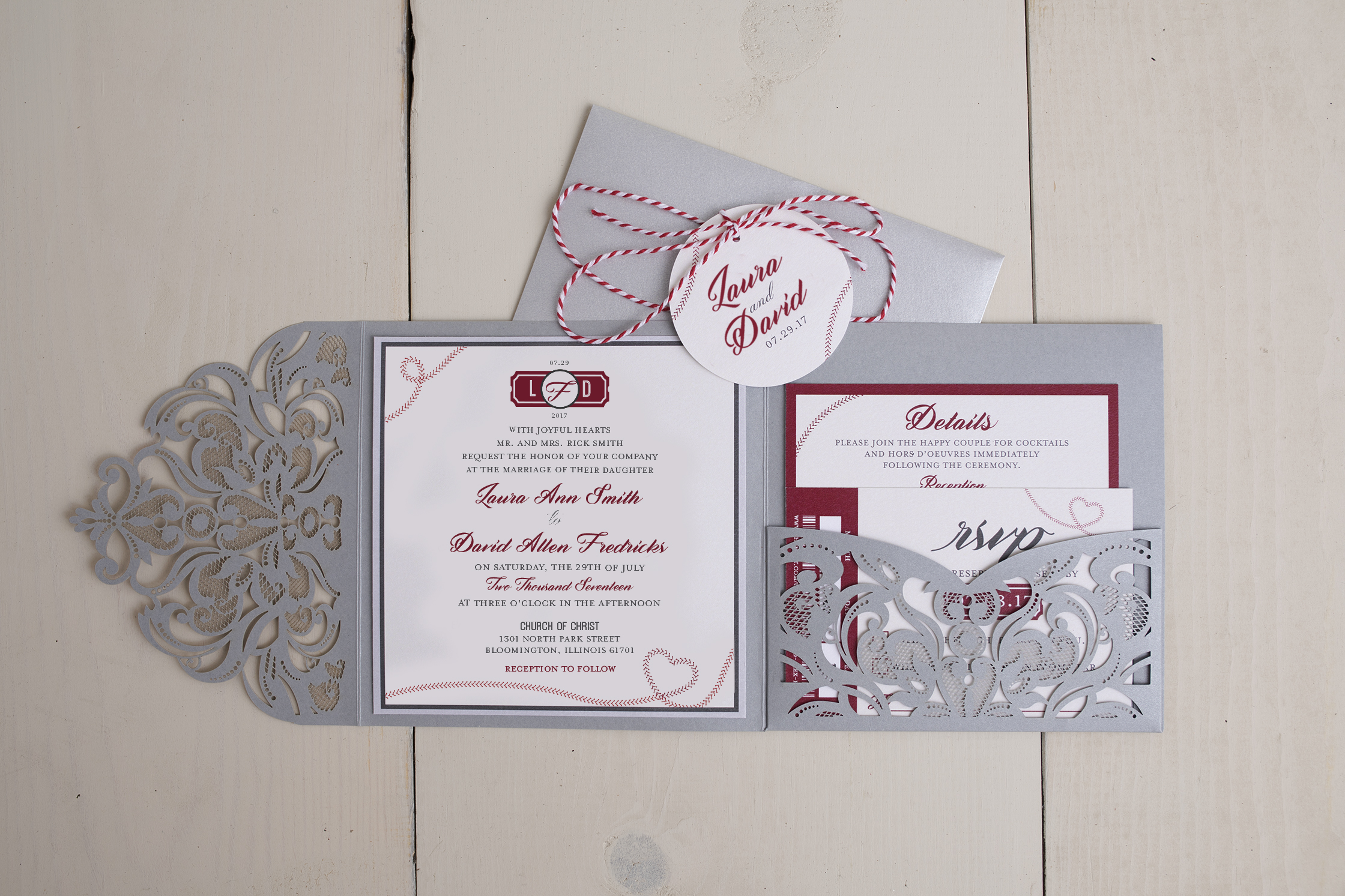 Wedding Invitation Design Kelly Graves Design